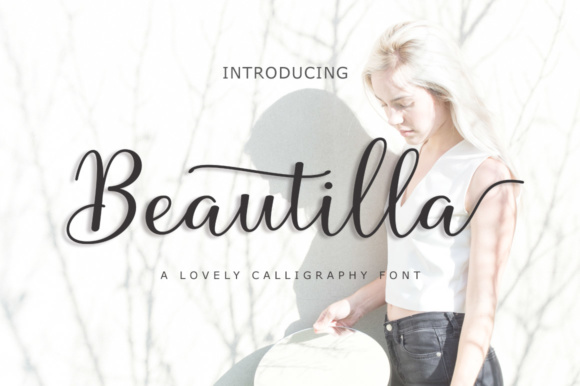 Print on Demand: Beautilla Script Script & Handwritten Font By supotype