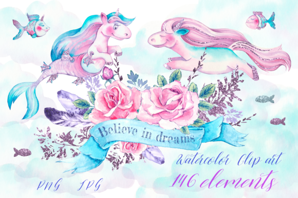 Print on Demand: Believe in Dreams Grafik Illustrationen von nicjulia