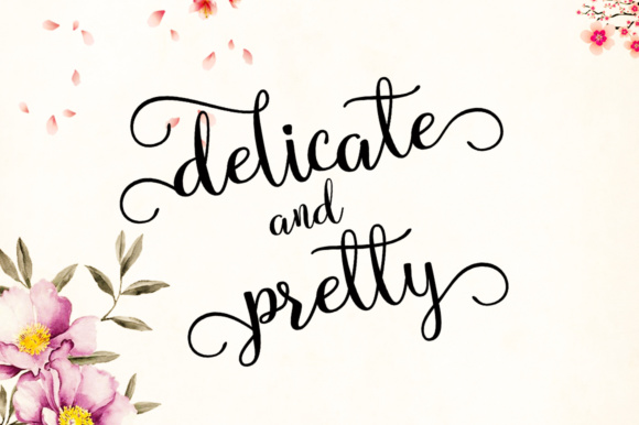 Print on Demand: Bella Madelyn Script Script & Handwritten Font By Aqeela Studio - Image 6