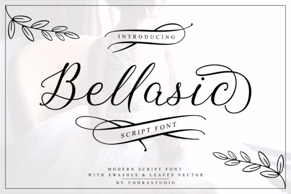 Print on Demand: Bellasic Script & Handwritten Font By YdhraStudio