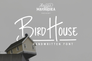 Bird House Font By AMTYPES
