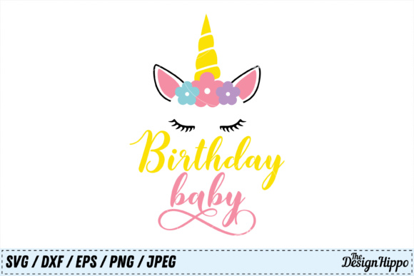 Birthday Baby SVG Graphic By thedesignhippo Image 1