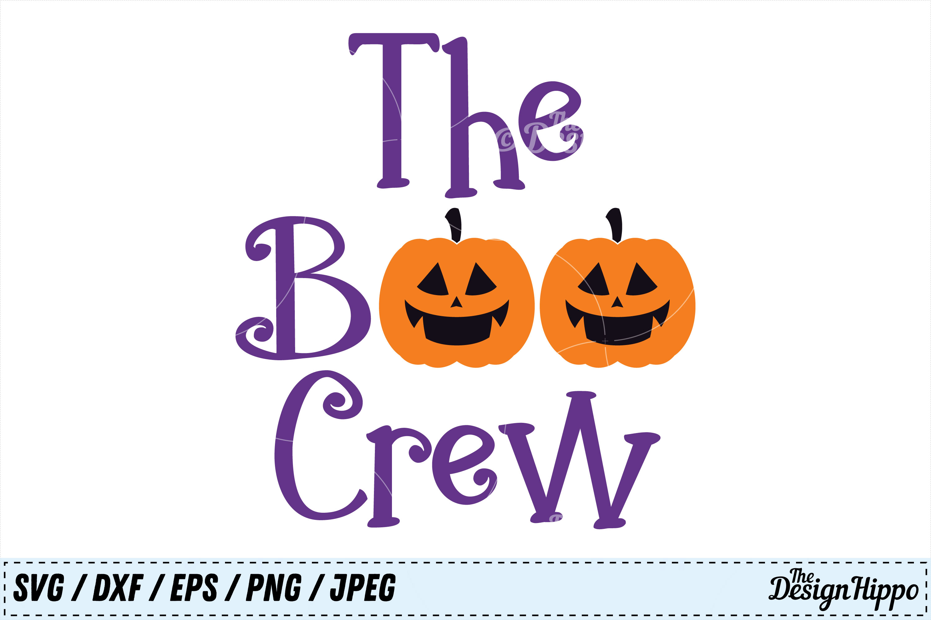 Download Free Boo Crew Graphic By Thedesignhippo Creative Fabrica for Cricut Explore, Silhouette and other cutting machines.