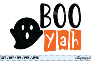 Download Free Boo Yah Graphic By Thedesignhippo Creative Fabrica for Cricut Explore, Silhouette and other cutting machines.