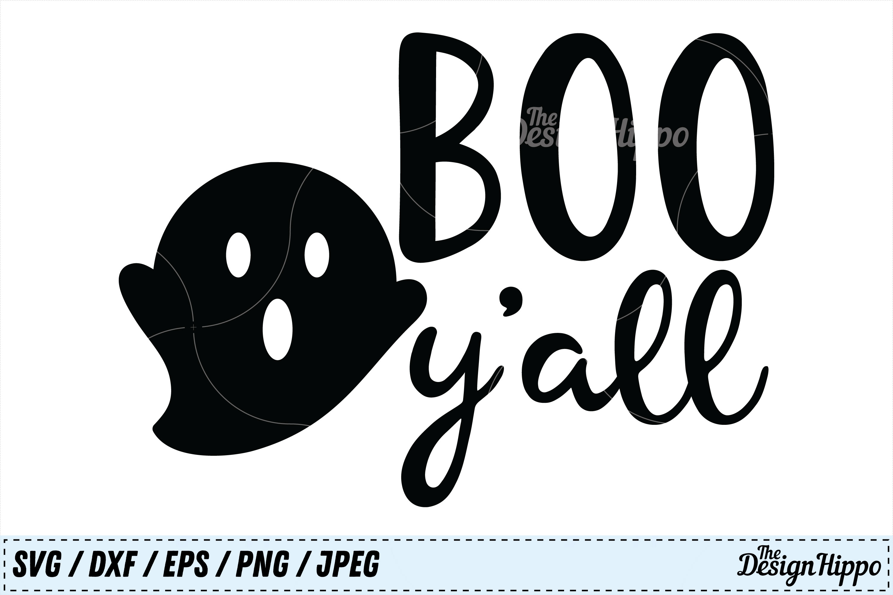 Download Free Boo Y All Svg Graphic By Thedesignhippo Creative Fabrica for Cricut Explore, Silhouette and other cutting machines.