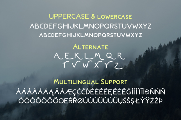 Print on Demand: Bromoto Display Font By attypestudio - Image 3