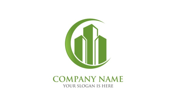 Building Logo Graphic Logos By 2qnah