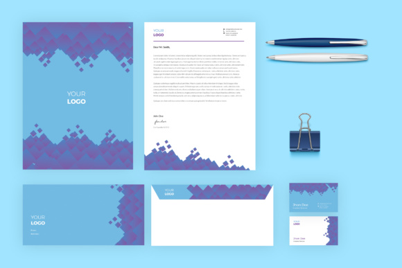 Business Stationary Graphic Print Templates By TMint