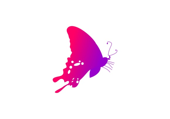 Butterfly Logo Vector Graphic Logos By 2qnah