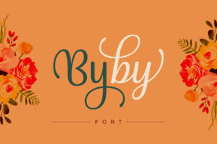 Print on Demand: Byby Script & Handwritten Font By Situjuh