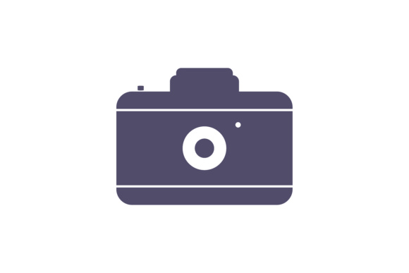 Print on Demand: Camera Icon Flat Graphic Icons By LeisureProjects