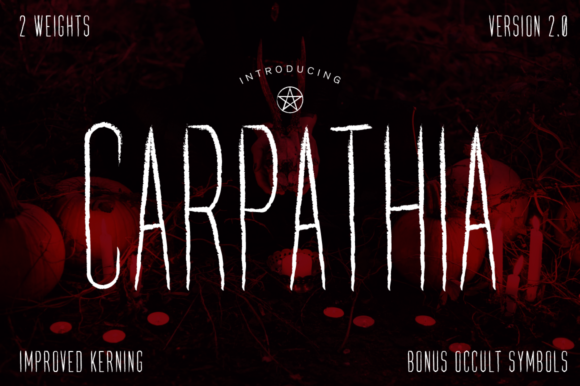 Print on Demand: Carpathia Script & Handwritten Font By VonTypeCo