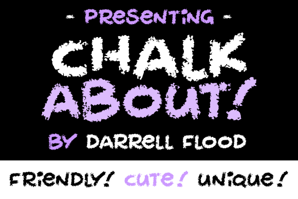 Print on Demand: Chalkabout Decorative Font By Dadiomouse