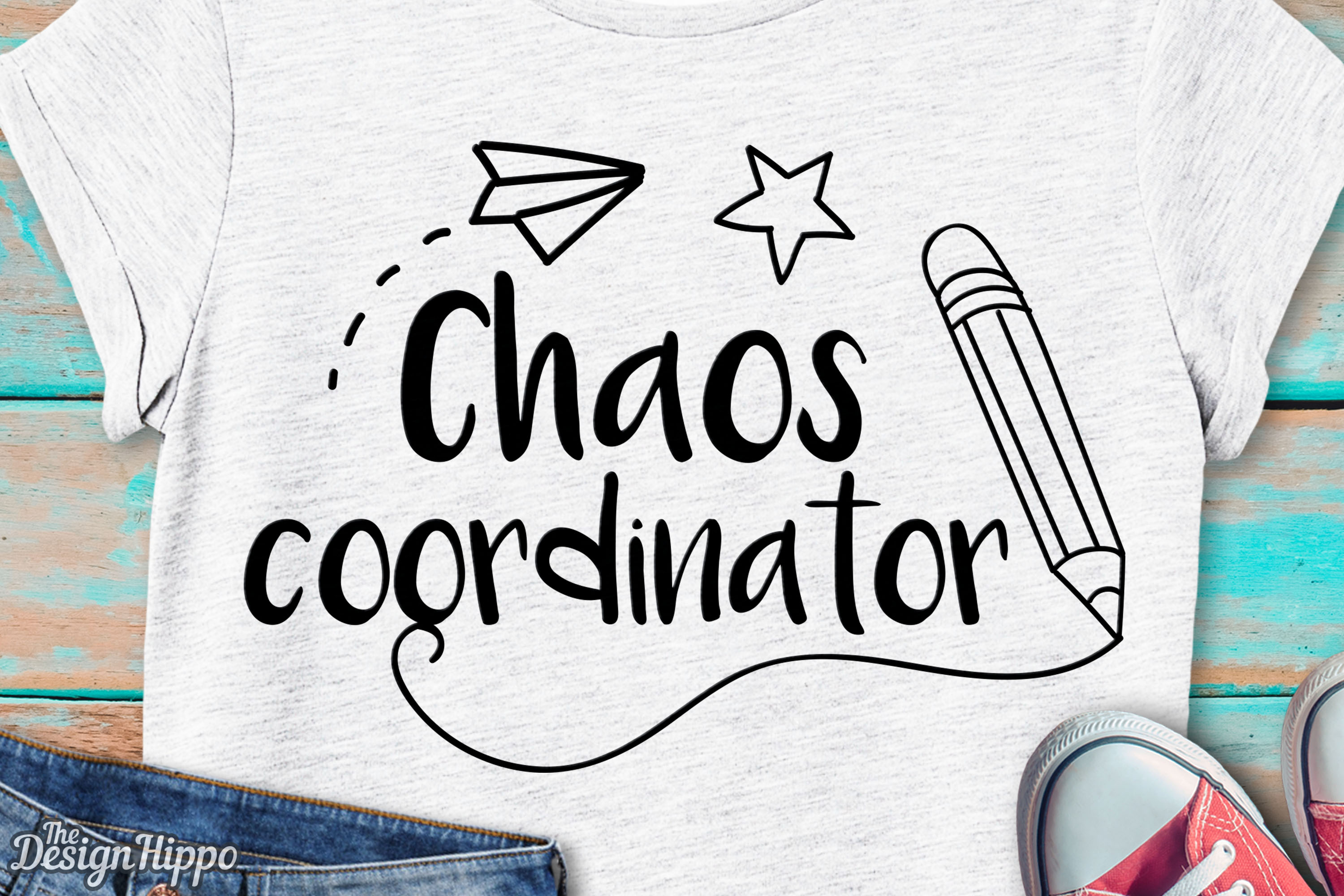 Chaos Coordinator Graphic By Thedesignhippo Creative Fabrica