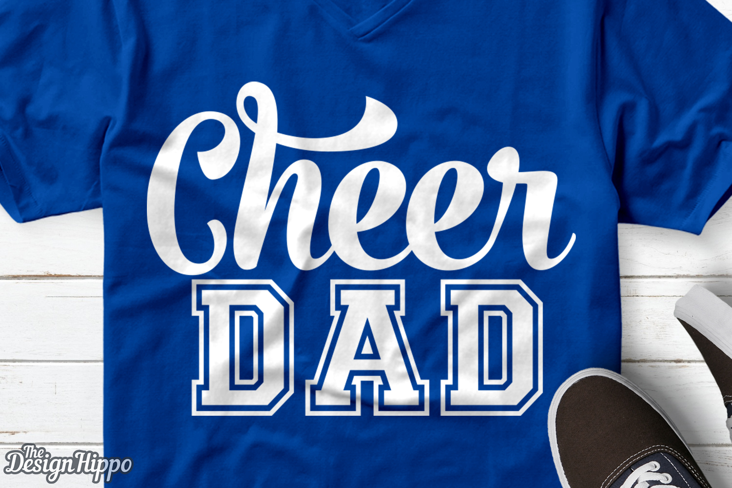 Download Free Cheer Dad Graphic By Thedesignhippo Creative Fabrica for Cricut Explore, Silhouette and other cutting machines.