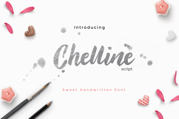 Chelline Script Font By Cooldesignlab Image 1