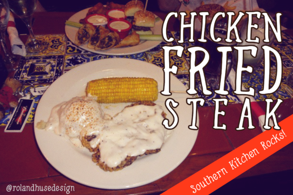 Print on Demand: Chicken Fried Steak Script & Handwritten Font By Roland Hüse Design