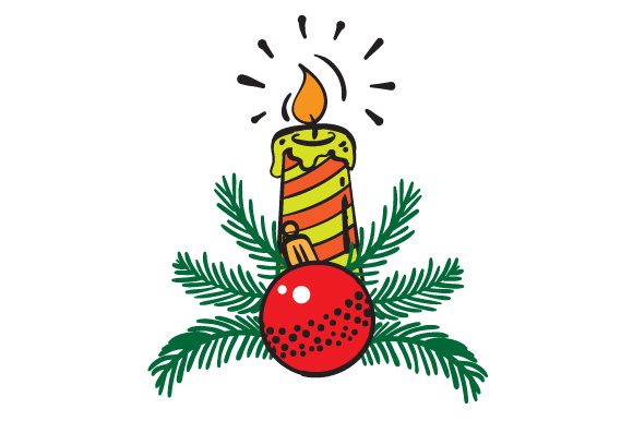Download Free Christmas Candle Svg Cut File By Creative Fabrica Crafts for Cricut Explore, Silhouette and other cutting machines.