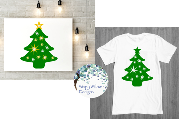 Download Free Christmas Trees Graphic By Wispywillowdesigns Creative Fabrica for Cricut Explore, Silhouette and other cutting machines.