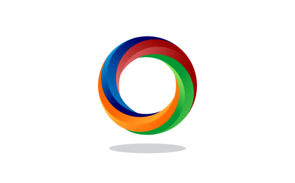 Circle Colorful Frame Abstract Icon Vector Background Design Symbol Graphic Logos By 2qnah