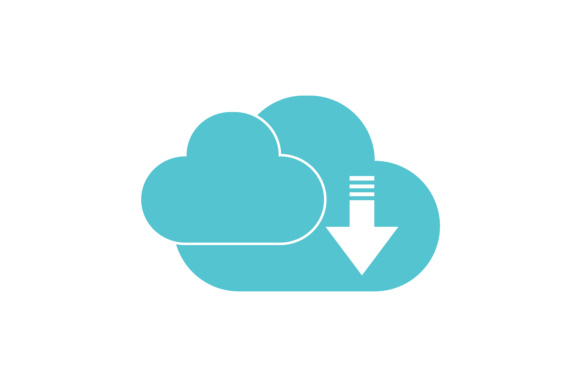 Download Free Cloud Icon Symbol Graphic By Leisureprojects Creative Fabrica for Cricut Explore, Silhouette and other cutting machines.