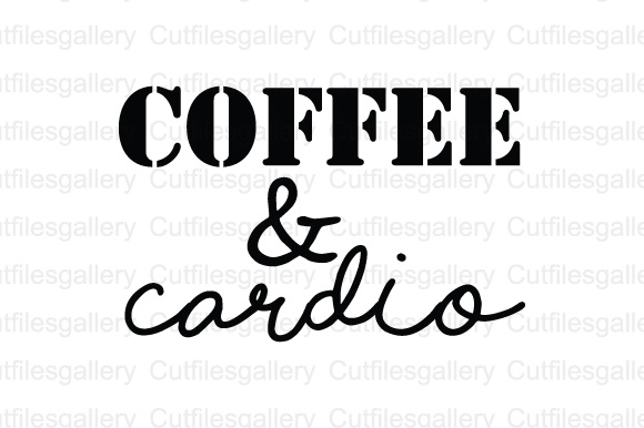Download Free Coffee Cardio Graphic By Cutfilesgallery Creative Fabrica SVG Cut Files