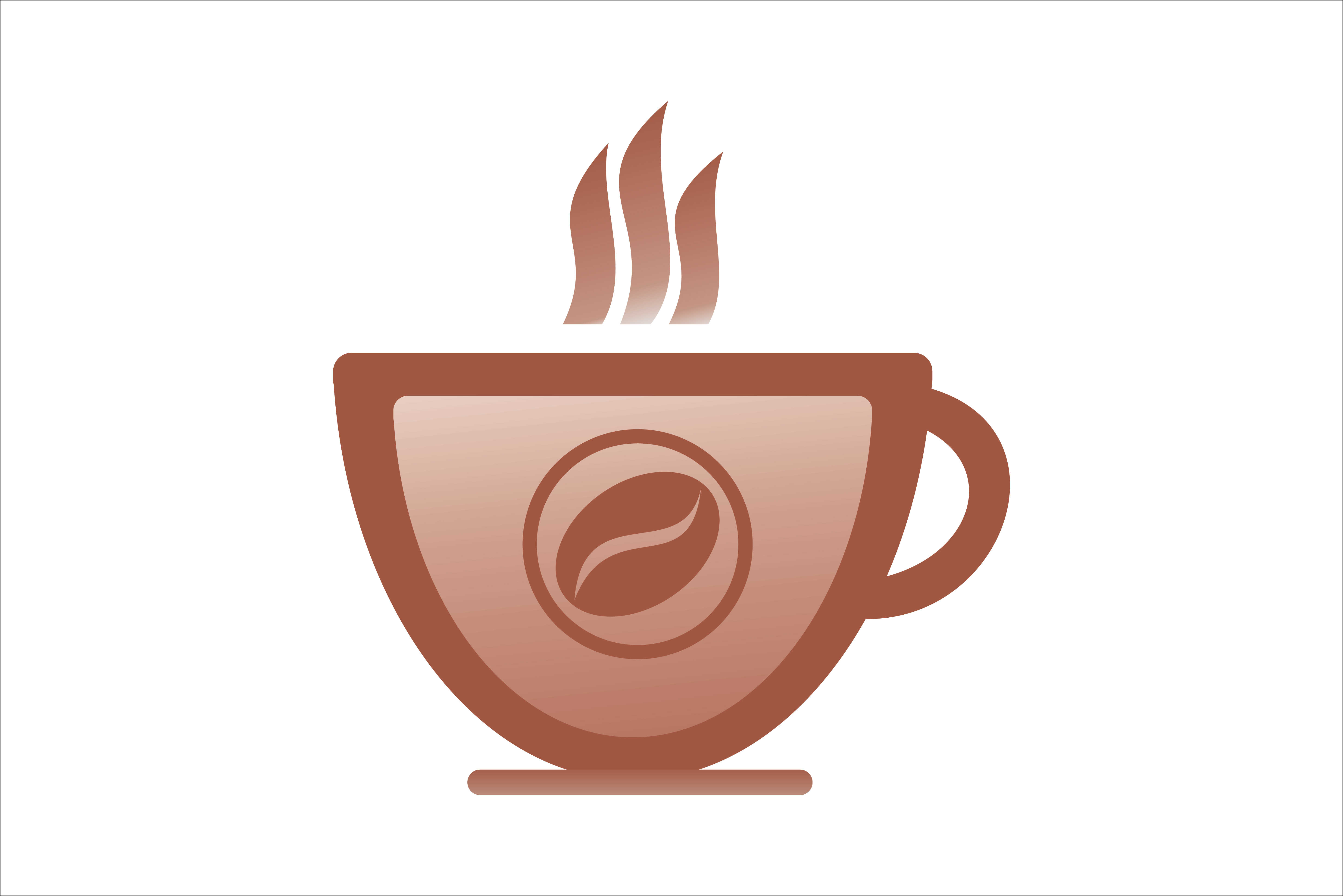 Download Free Coffee Shop Icon Logo Graphic By Leisureprojects Creative Fabrica for Cricut Explore, Silhouette and other cutting machines.