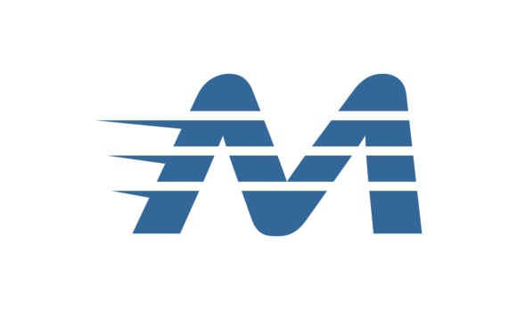 Concept Letter M Fast Logo Graphic Logos By 2qnah