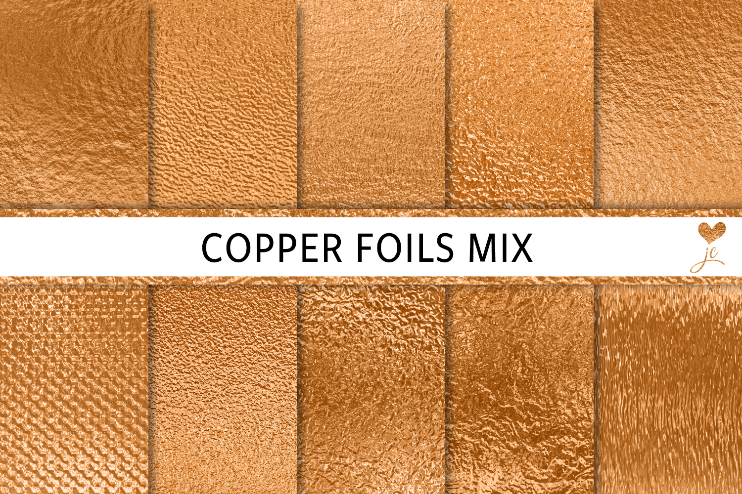 Download Free Copper Foils Mix Graphic By Juliecampbelldesigns Creative Fabrica SVG Cut Files