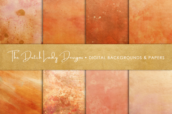 Download Free Copper Rose Gold Textures Scrapbook Paper Graphic By for Cricut Explore, Silhouette and other cutting machines.