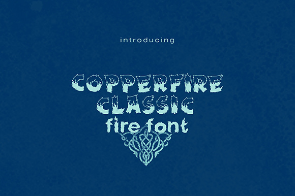 Print on Demand: Copperfire Display Font By brnk1314 - Image 1