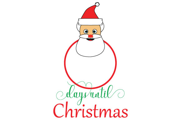 Download Free Days Until Christmas Graphic By Goran Stojanovic Creative Fabrica for Cricut Explore, Silhouette and other cutting machines.