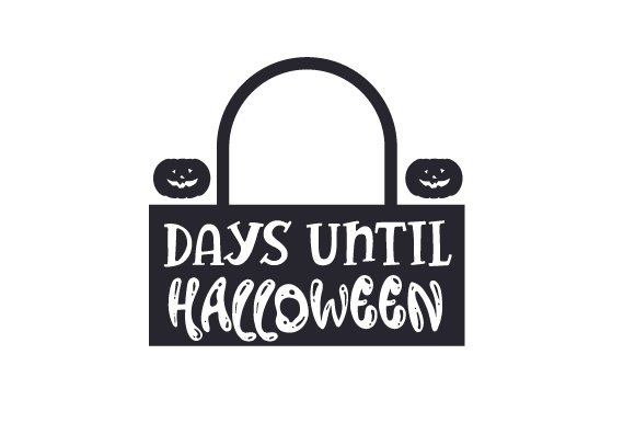 Download Free Days Until Halloween Svg Cut File By Creative Fabrica Crafts for Cricut Explore, Silhouette and other cutting machines.