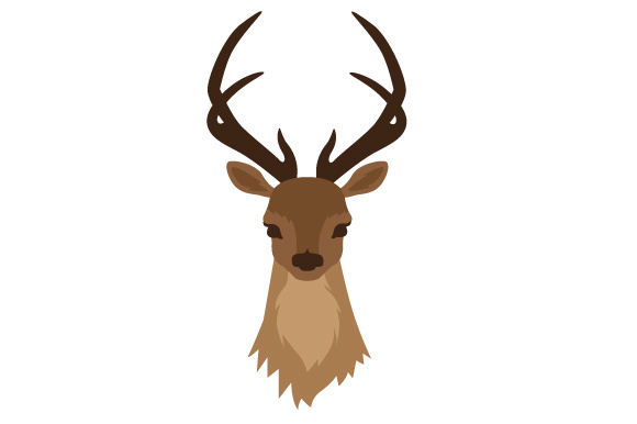 Download Free Deer Head Svg Cut File By Creative Fabrica Crafts Creative Fabrica for Cricut Explore, Silhouette and other cutting machines.