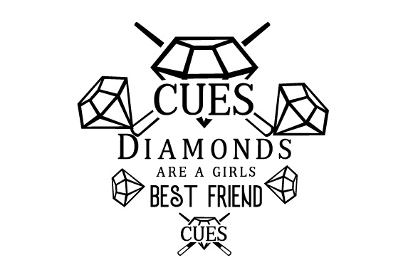 Download Free Diamonds Are A Girls Best Friend Svg Cut File By Creative for Cricut Explore, Silhouette and other cutting machines.