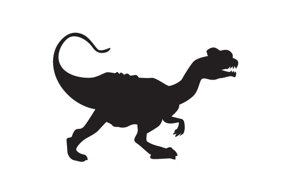 Download Free Dinosaur Silhouette Dilophosaurus Svg Cut File By Creative for Cricut Explore, Silhouette and other cutting machines.