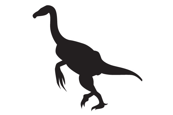 Download Free Dinosaur Silhouette Erlikosaurus Svg Cut File By Creative for Cricut Explore, Silhouette and other cutting machines.