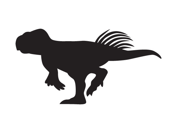 Download Free Dinosaur Silhouette Psittacosaurus Svg Cut File By Creative for Cricut Explore, Silhouette and other cutting machines.