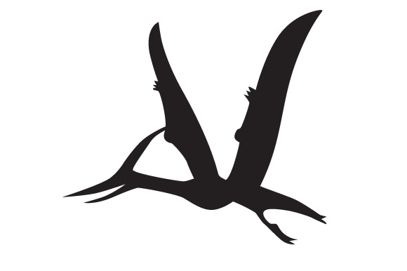 Download Free Dinosaur Silhouette Pteranodon Svg Cut File By Creative for Cricut Explore, Silhouette and other cutting machines.