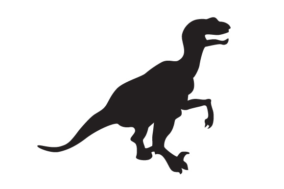 Download Free Dinosaur Silhouette Velociraptor Svg Cut File By Creative SVG Cut Files