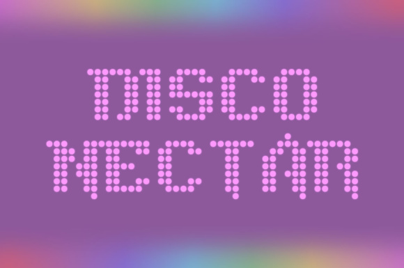 Print on Demand: Disco Nectar Display Font By Chequered Ink