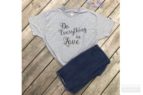 Download Free Do Everything In Love 1 Corinthians 16 14 Svg Graphic By for Cricut Explore, Silhouette and other cutting machines.