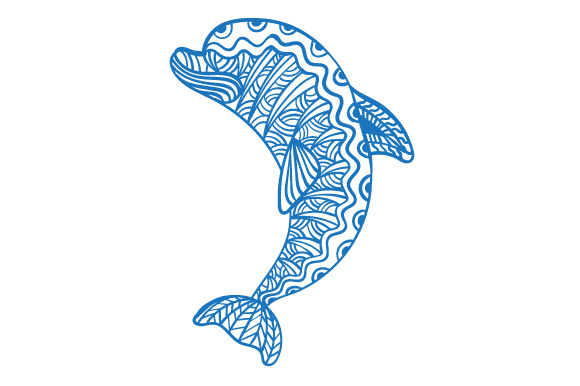 Dolphin Animals Craft Cut File By Creative Fabrica Crafts