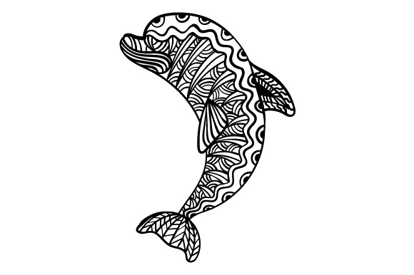 Download Free Dolphin Svg Cut File By Creative Fabrica Crafts Creative Fabrica for Cricut Explore, Silhouette and other cutting machines.