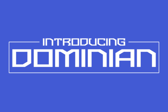 Print on Demand: Dominian Display Font By Chequered Ink