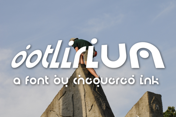 Print on Demand: Dotlirium Display Font By Chequered Ink