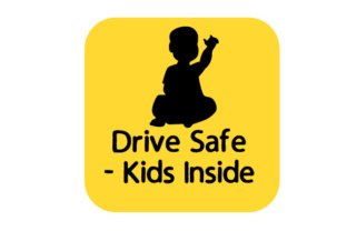 Drive Safe - Kids Inside Craft Design By Creative Fabrica Crafts