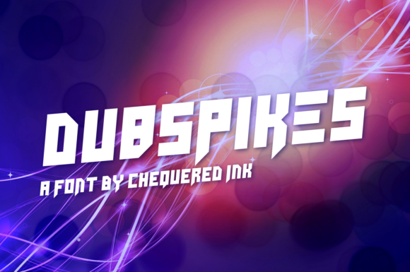 Print on Demand: Dubspikes Display Font By Chequered Ink