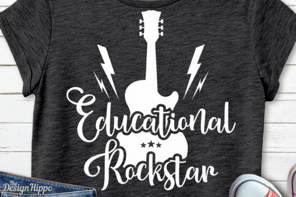 Educational Rockstar Graphic Crafts By thedesignhippo