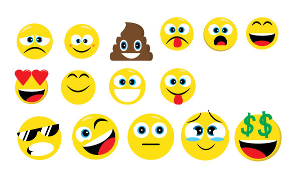 Download Free Emoji Collection Graphic By Goran Stojanovic Creative Fabrica for Cricut Explore, Silhouette and other cutting machines.